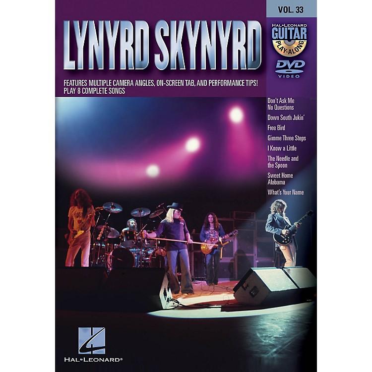 Hal LeonardLynyrd Skynyrd - Guitar Play-Along DVD Volume 33