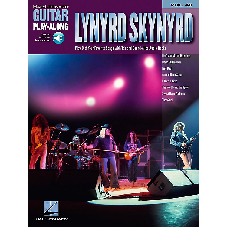 Hal Leonard Lynyrd Skynyrd - Guitar Play-Along Volume 43 Book and CD