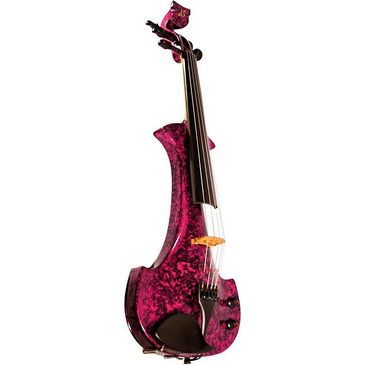BridgeLyra Series 5-String Electric ViolinPurple Marble