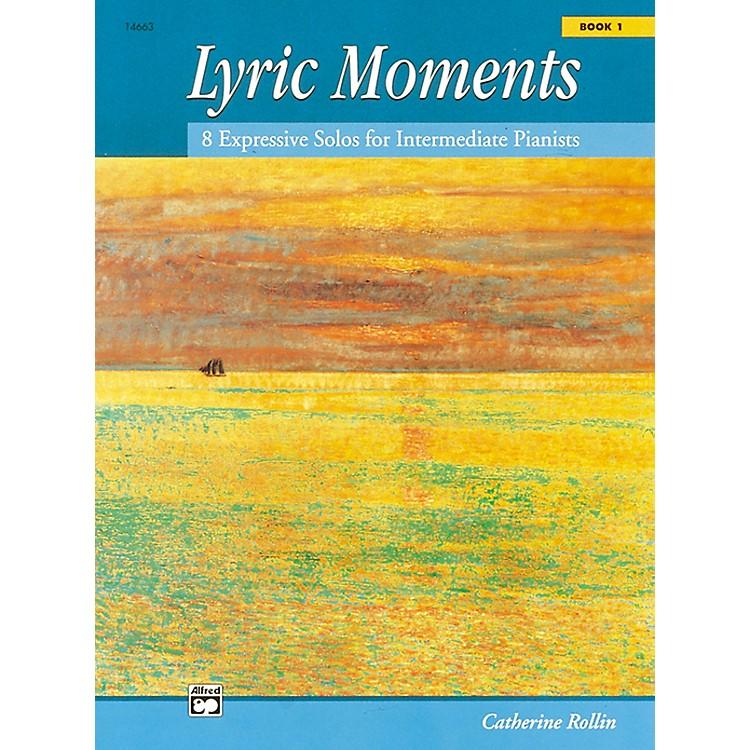 AlfredLyric Moments Book 1 Intermediate Piano