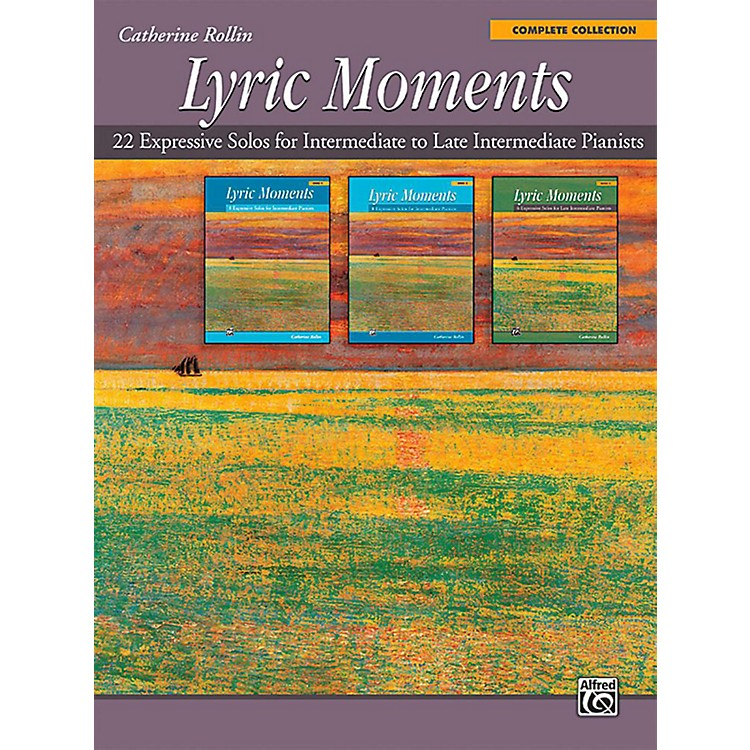Alfred Lyric Moments: Complete Collection - Intermediate / Late Intermediate