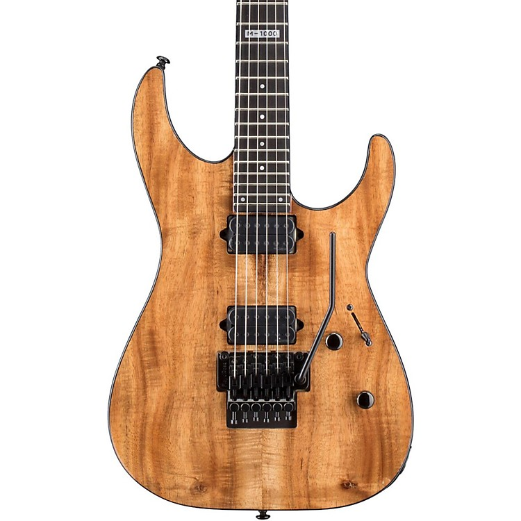 ESP M-1000 Limited Edition Koa Electric Guitar Natural