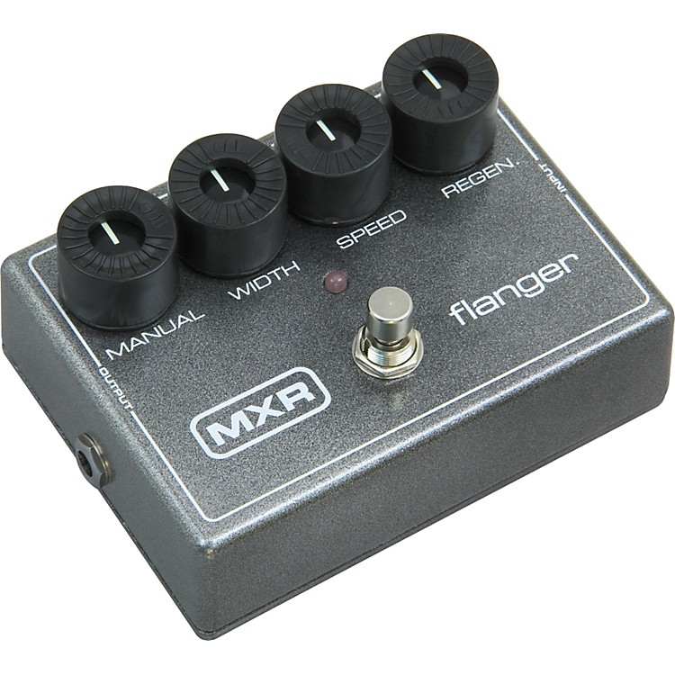 MXR M-117R Flanger Effects Pedal Metallic Gray