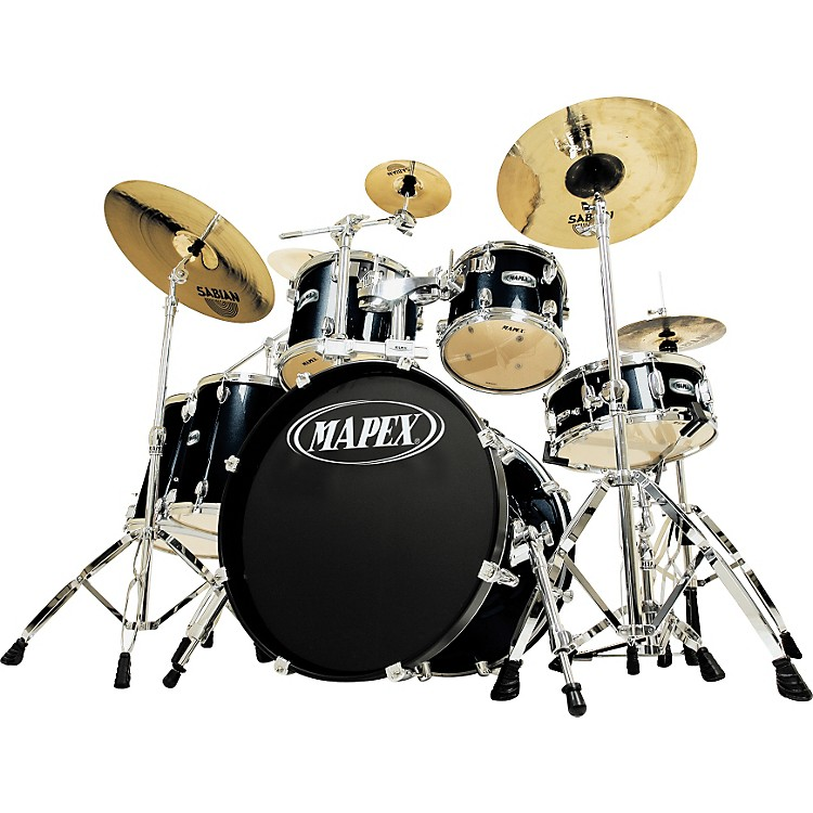 mapex m series maple 6 piece studio drum set music123. Black Bedroom Furniture Sets. Home Design Ideas