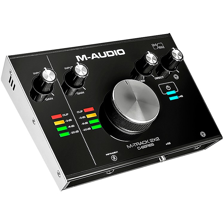 M-AudioM-Track C-Series 2x2 USB Audio Interface