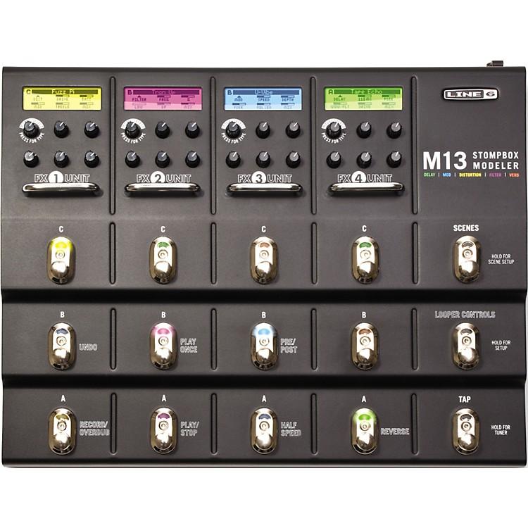 Line 6M13 Stompbox Modeler Guitar Multi-Effects Pedal888365849669