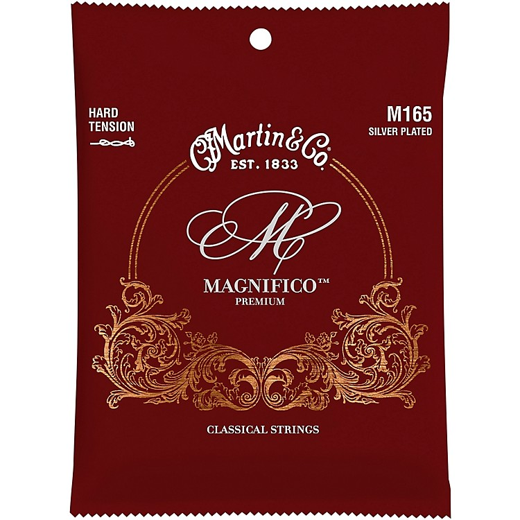 MartinM165 Magnifico Hard Tension Silverplated Strings