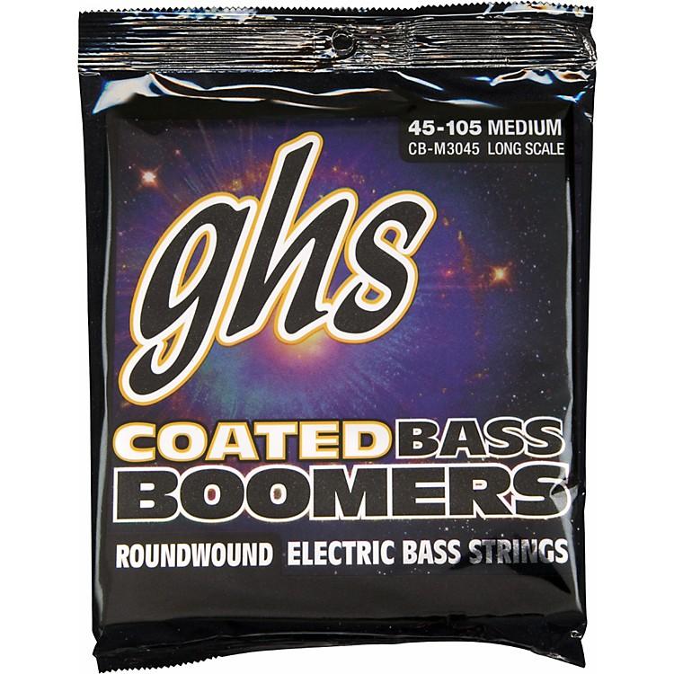 GHSM3045 Coated Boomers Medium Bass Strings