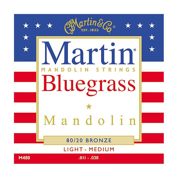 MartinM450 80/20 Bronze Bluegrass Acoustic Mandolin Strings