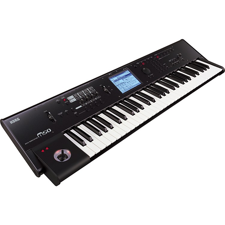 Korg M50 61-Key Music Workstation