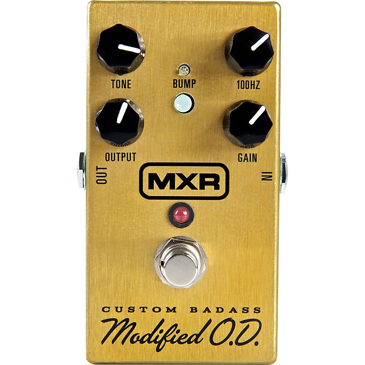MXRM77 Custom Modified Badass Overdrive Guitar Effects Pedal