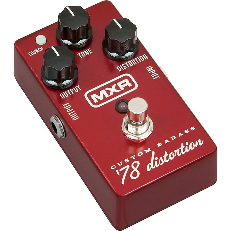 MXR M78 Custom Badass '78 Distortion Guitar Effects Pedal  888365823799