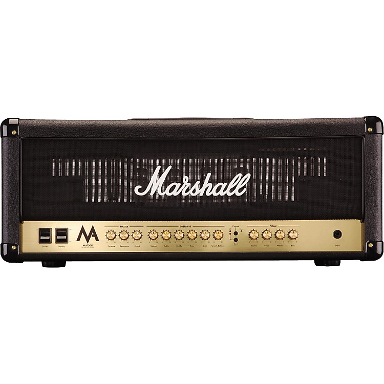 MarshallMA100H 100W Tube Guitar Amp HeadBlack