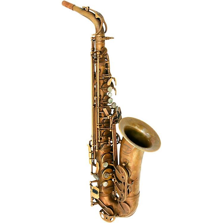 MACSAXMAC 8 Alto SaxophoneVintage Bare Brass
