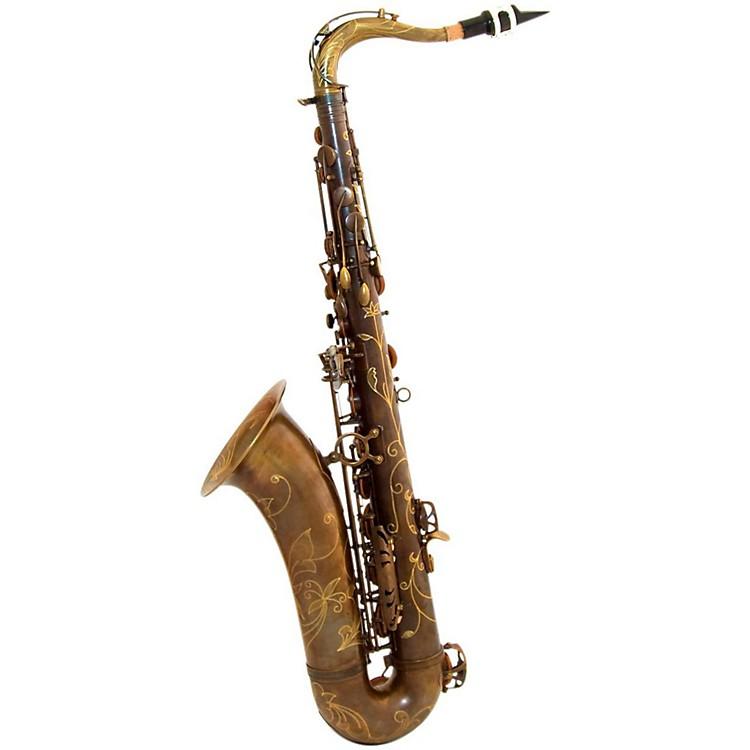 MACSAXMAC 8 Tenor SaxophoneVintage Bare Brass