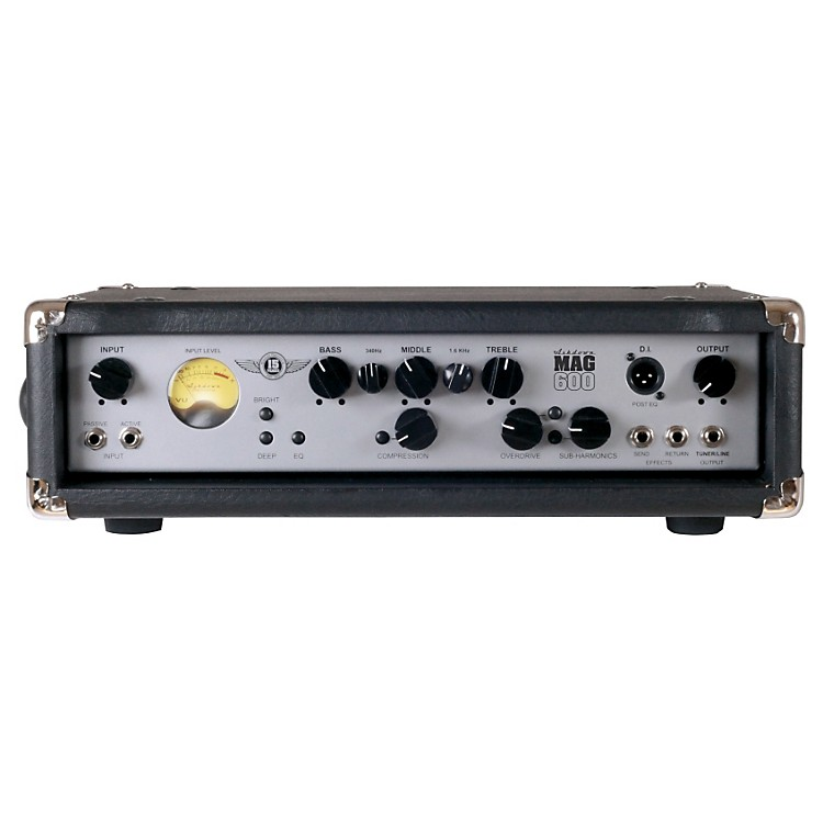 Ashdown MAG 600H EVO III 600W Bass Amplifier Head Black