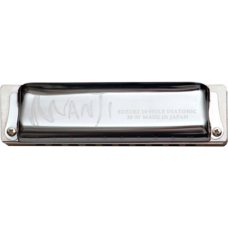 Suzuki MANJI Harmonica Major 7th Tuned A