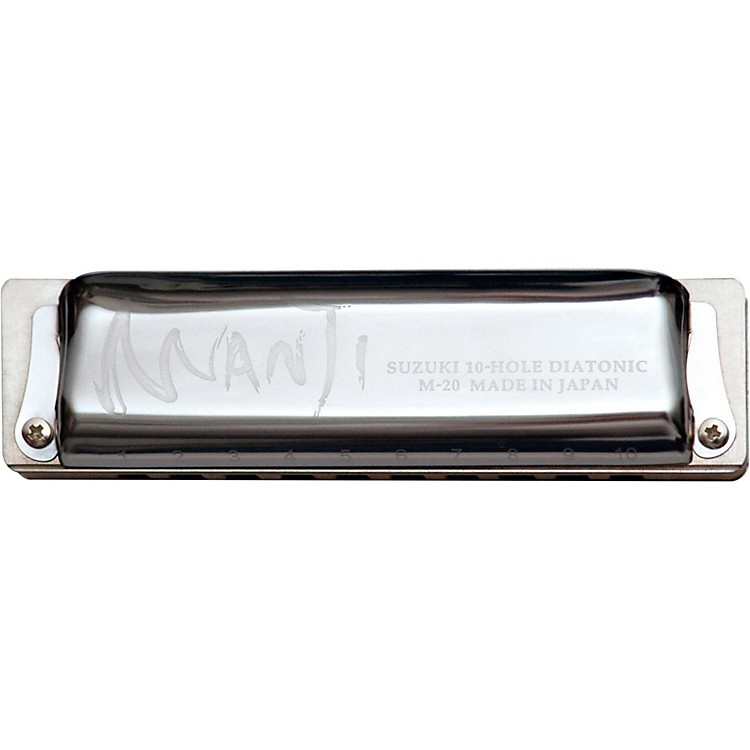 Suzuki MANJI Harmonica Major 7th Tuned G