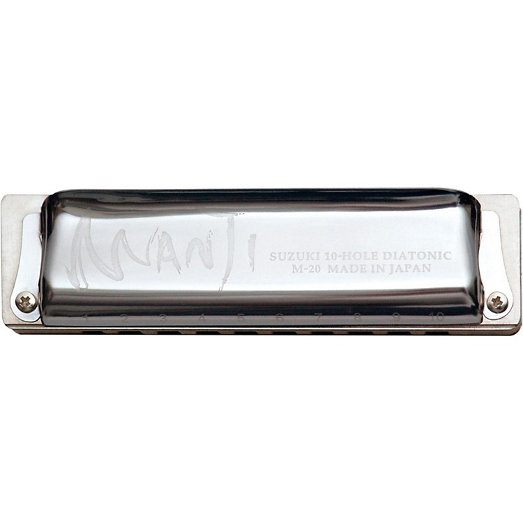Suzuki MANJI Harmonica Natural Minor Tuned A