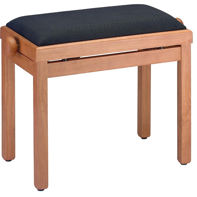 Stagg MAPLE PIANO BENCH MATT+BLACK VELVET TOP