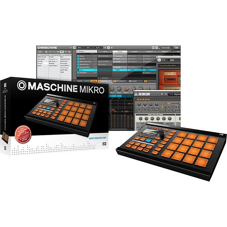 Native Instruments MASCHINE MIKRO Groove Production Studio