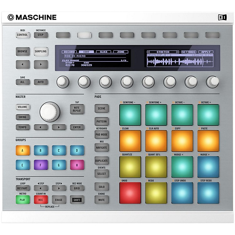 Native Instruments MASCHINE MK2 White