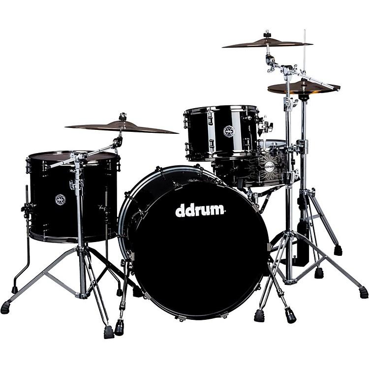DdrumMAX Series 3-Piece Maple Alder Drum SetPiano Black