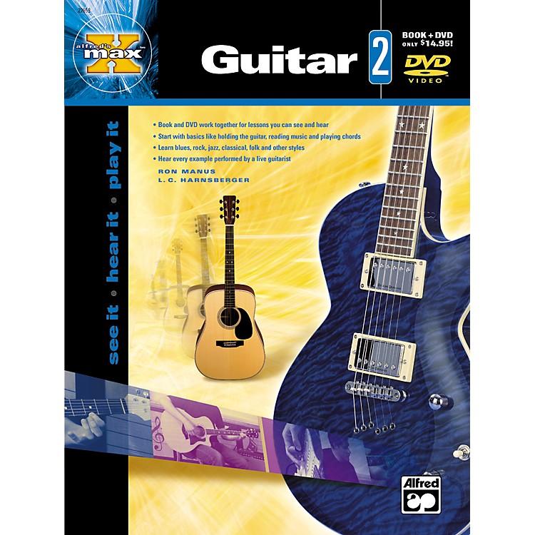 AlfredMAX Series Guitar Instruction 2 (Book/DVD)