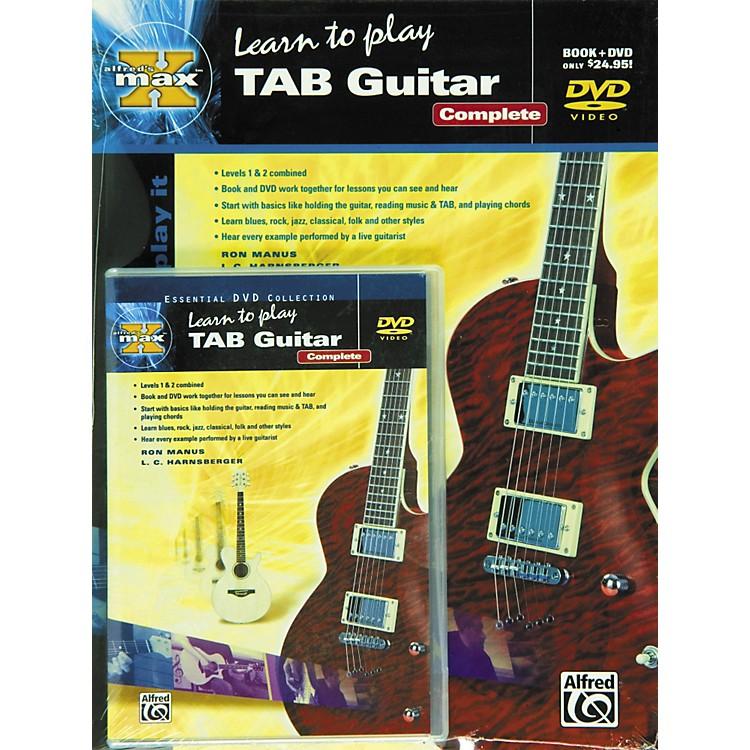 AlfredMAX Tab Guitar Complete (Book/DVD)