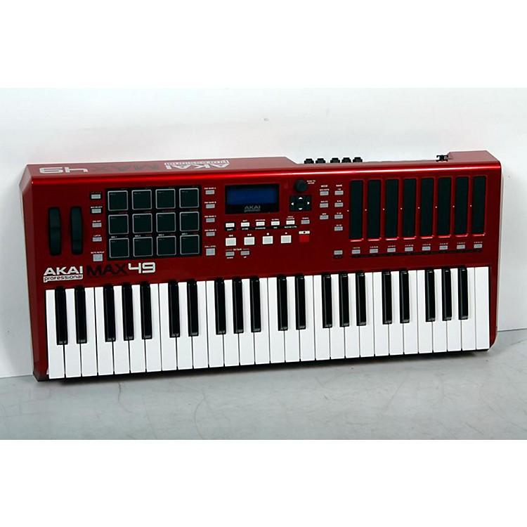 Akai ProfessionalMAX49 USB/MIDI/CV Keyboard ControllerRed888365852003