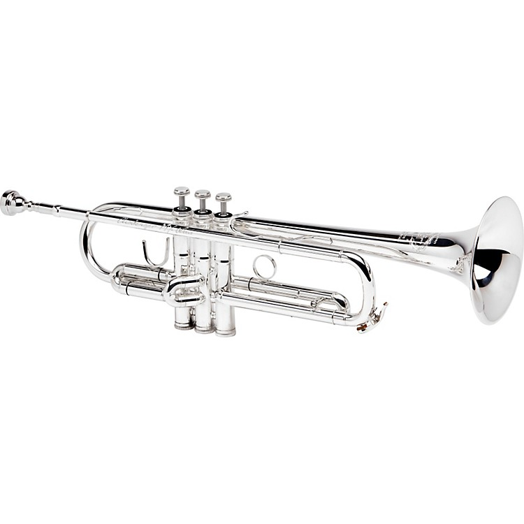 B&S MBX-GL Challenger II Bb Trumpet Silver Reverse Leadpipe