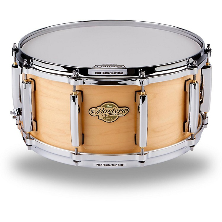 PearlMCX Masters Series Snare Drum14 x 6.5 in.Natural