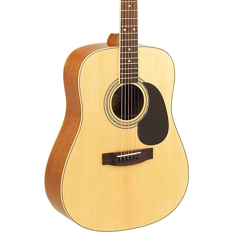 MitchellMD100S Dreadnought Acoustic GuitarNatural