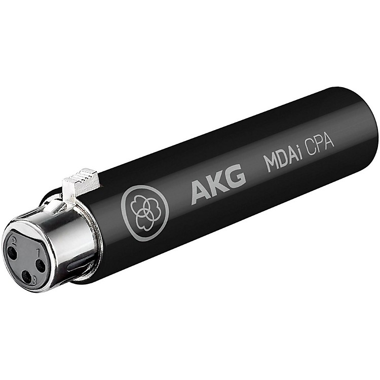 AKG MDAi CPA Dynamic Mic adapter for CPA/ioSYS Black