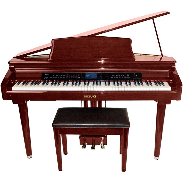 Suzuki MDG-300 Red Micro Grand Digital Piano  888365738802