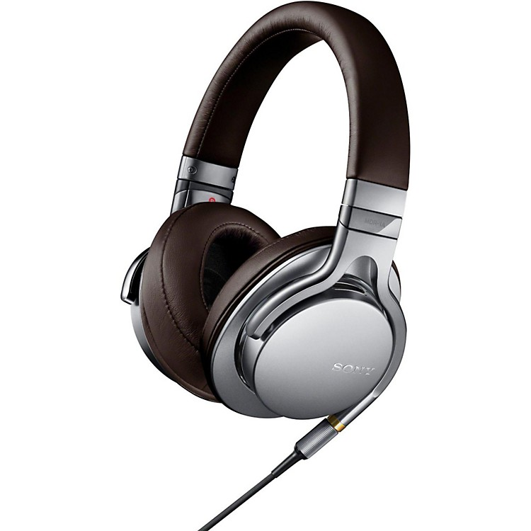 SonyMDR-1A Sony Premium Hi-Res Stereo HeadphonesSilver