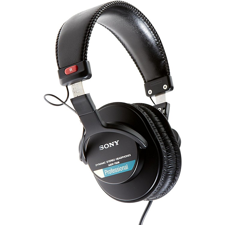 Sony MDR-7506 Professional Closed-Back Headphones
