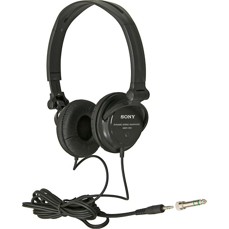 sony mdr v150 studio monitor series headphones music123. Black Bedroom Furniture Sets. Home Design Ideas