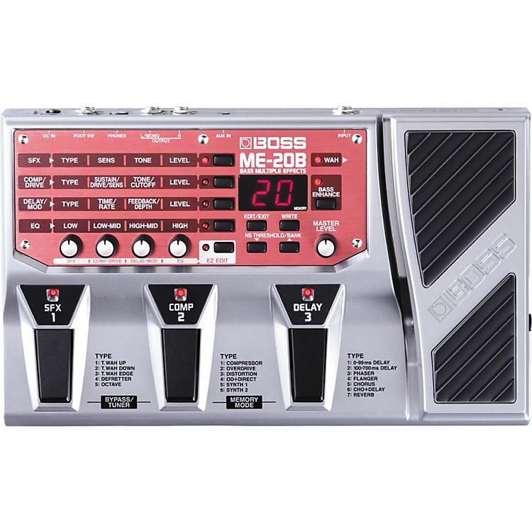 BossME-20B Bass Multi-Effects Pedal