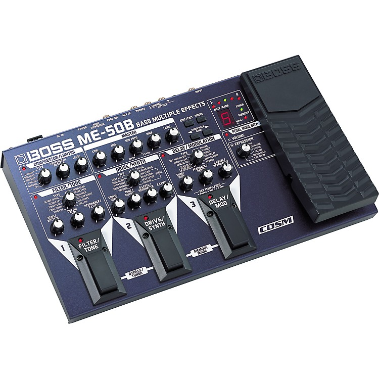 BossME-50B Bass Multiple Effects with COSM