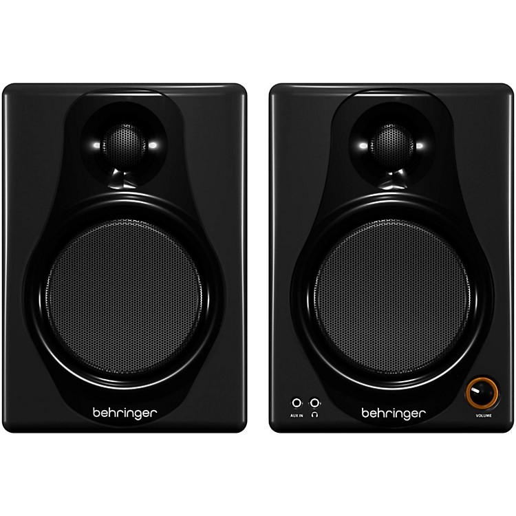 BehringerMEDIA 40USB High-Resolution,150-Watt Bi-Amped Digital Monitor Speakers with USB Input