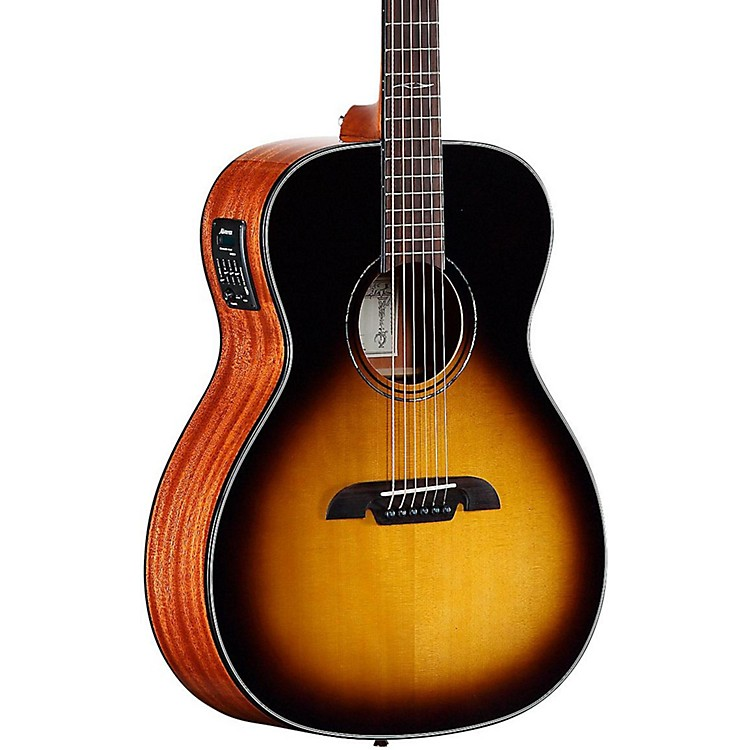Alvarez MF610ESB Folk Acoustic-Electric Guitar Sunburst