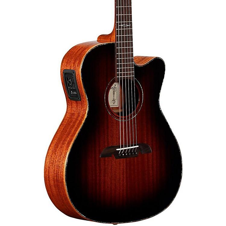 AlvarezMFA66CE Masterworks OM/Folk Acoustic-Electric GuitarShadow Burst
