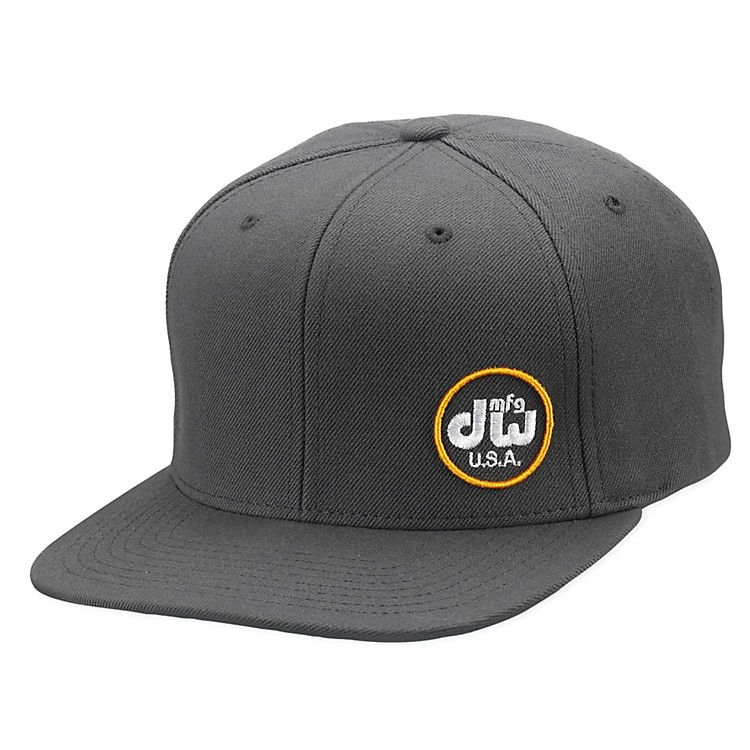 DWMFG Hat, Snapback,Gray w/ Yellow Logo