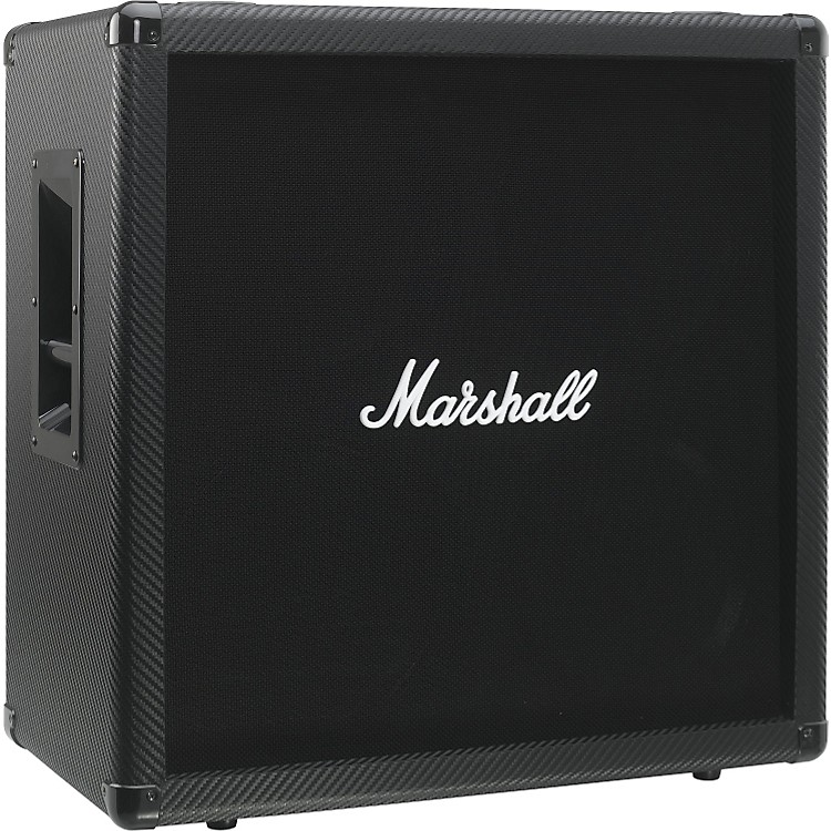 Marshall MG Series MG412CF 4x12 Guitar Speaker Cabinet Carbon Fiber Straight