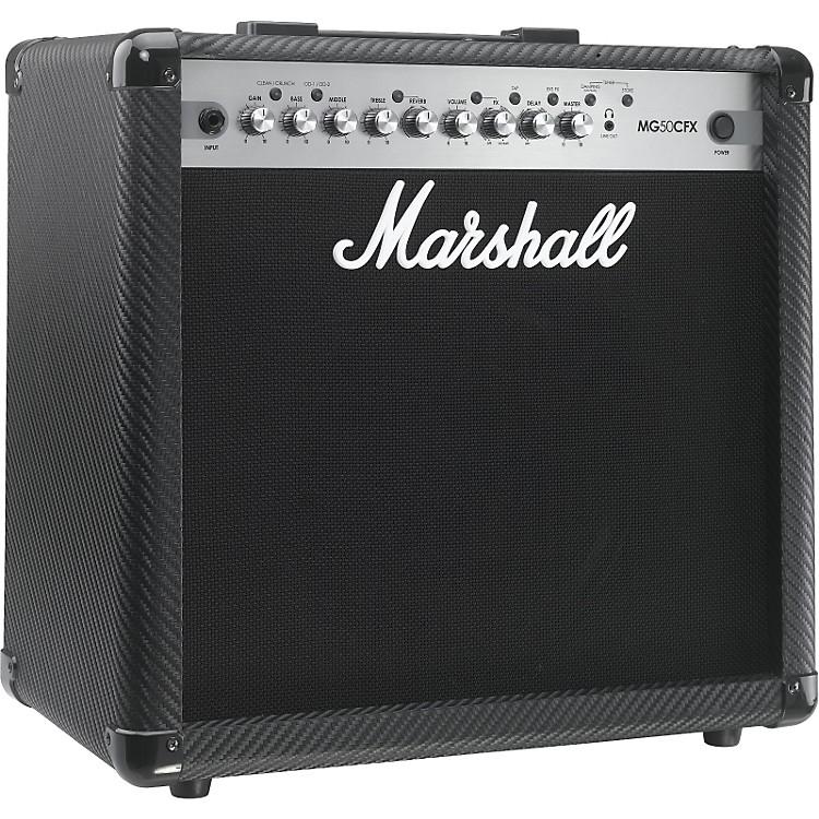 MarshallMG Series MG50CFX 50W 1x12 Guitar Combo AmpCarbon Fiber