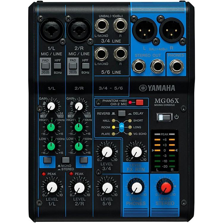 YamahaMG06X 6-Channel Mixer