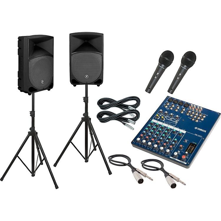 YamahaMG102C / Thump TH-12A PA Package