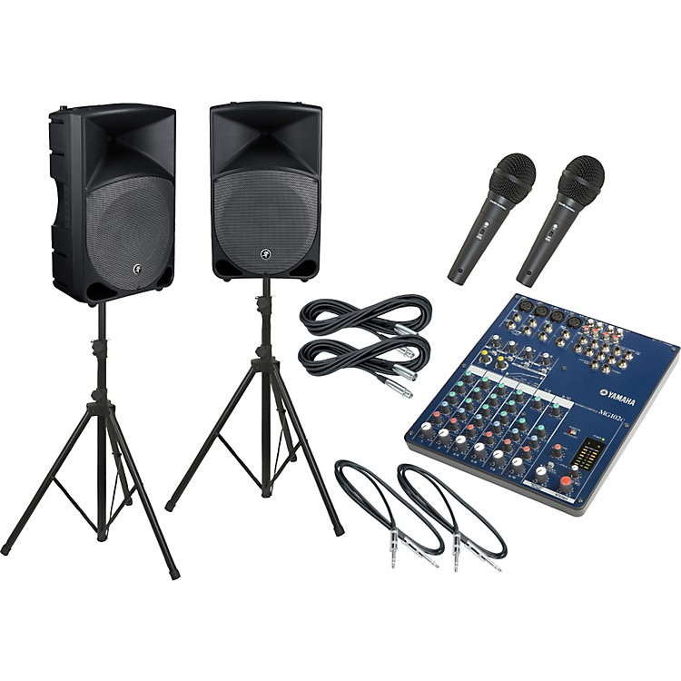 YamahaMG102C / Thump TH-15A PA Package