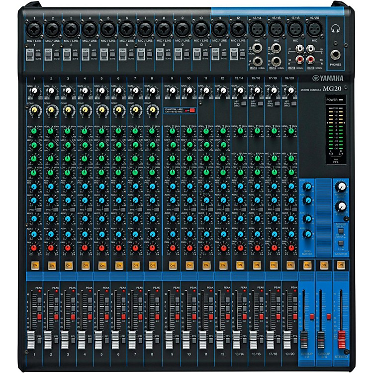 YamahaMG20 20-Channel Mixer with Compression